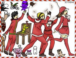 Ain't no party like a PewDiePie party Christmas by JetThePai