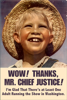 Thanks, Mr. Chief Justice! by poasterchild