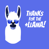 Thanks For The Llama by michaelsboost