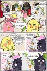 .:Love Issue:.{Angry Birds movie Comic} (part 9) by KatTheFalcon