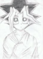 Yugi with a blanket by thingy-me-jellyfis
