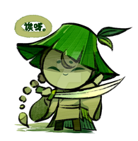 Bamboo assassin cookie by Ghost-pumpkin