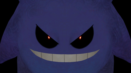 Best thing about rebuilding Gengar by GuilTronPrime