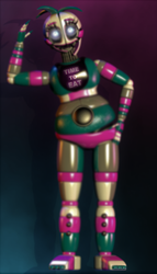 funtime chica (blender release) by Geta1999
