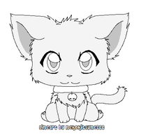 Free MS Paint Lineart by SpottedpeIt
