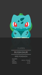 Bulbasaur by WEAPONIX