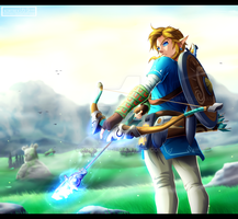 The Legend of Zelda: Breath of the Wild - Link by Kortrex