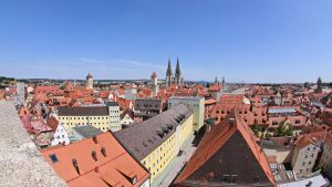 Regensburg - view over the roofs by UdoChristmann