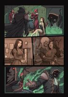 Night Wolf Comic Book Issue #1 Page 11 Colors by RAM-Horn