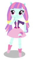 AU Sunny Flare Mini doll by SunsetShimmer333