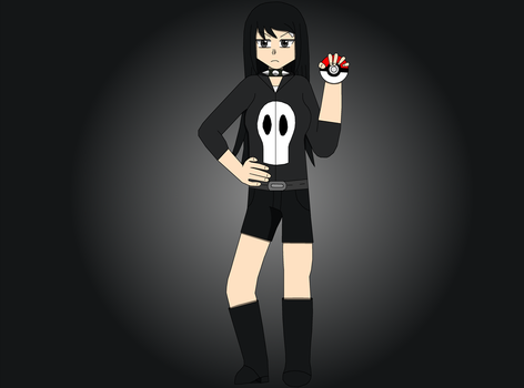 My new OC: Acantha by PokemonXYLover1998