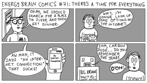 EBC #71: There's A Time For Everything by EnergyBrainComics