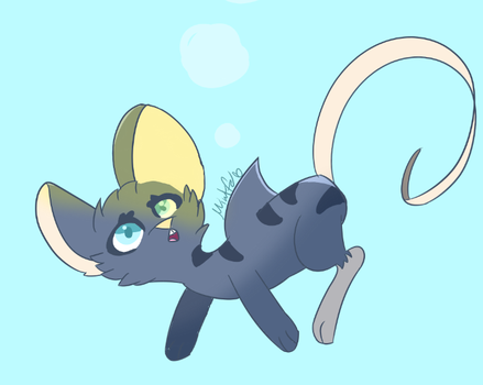 shark mouse by Mintfe
