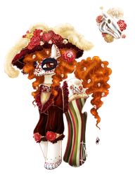 La Catrina Pony Adoptable Auction :CLOSED: by MaGeXP