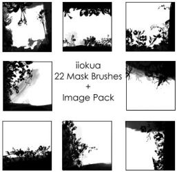 22 Mask brushes by iiokua