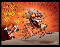 Stimpy's Invention by Monkey-Cosio