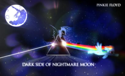 Pinkie Floyd: Dark side of Nightmare Moon by dan232323
