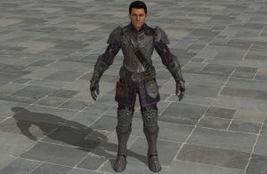 'TES4: Oblivion' Hunthor Armor XPS ONLY!!! by lezisell