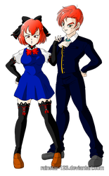 C |  Brother and Sister by Rainstar-123