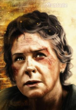The Walking dead | Carol Peletier Digital art by Klowreed
