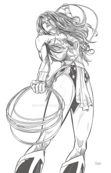 Wonder Woman by Soussherpa
