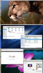 Mac OS X Lion Skin Pack V3 For Ubuntu 12.10 by MBOSSG