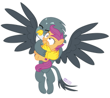 Too Much Hugging by dm29