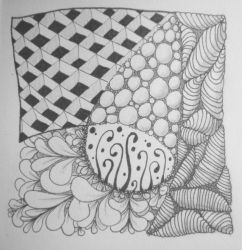 Zentangle 0001 by gormash