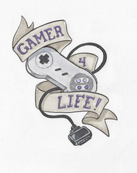 Gamerlife SNES by The-Z