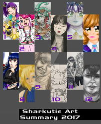 Art Summary 2017 by VentusSkyress14
