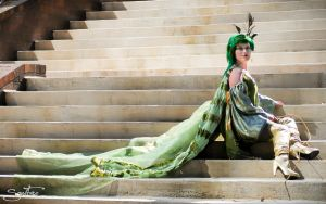 AWA 2011: Rydia 2 by ChikiCosplay