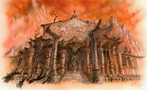 The Sanctuary of Artemise by Agalanthe