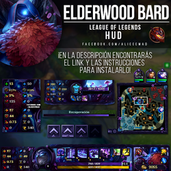 League of Legends HUD - Elderwood Bard by AliceeMad