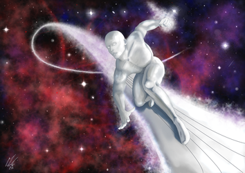 Silver Surfer. by blood083