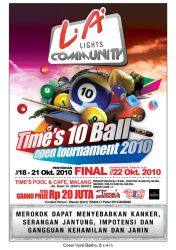 Time's 10 Ball Tournament by Janitra