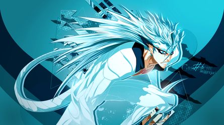 GrimmJow Wallpaper by Darkprincess92
