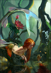 Mermaid by Emiroth