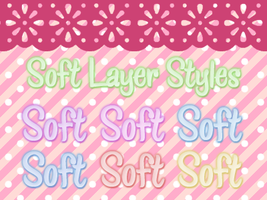 soft layer styles by Bourniio