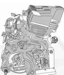 rxz engine by budoxesquire