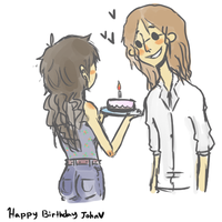 Happy Birthday. by Quuy