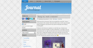 Journal: Blue and Grey by mmmbisto