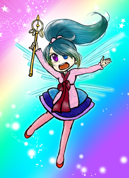 Magical Girl - Sparkle Attack! by kabocha