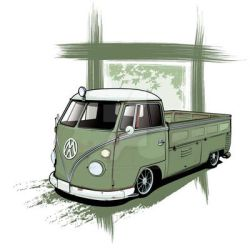 VW Ratty Pick Up Finished by flatfourdesign