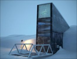 Svalbard Global Seed Vault by xcEmUx