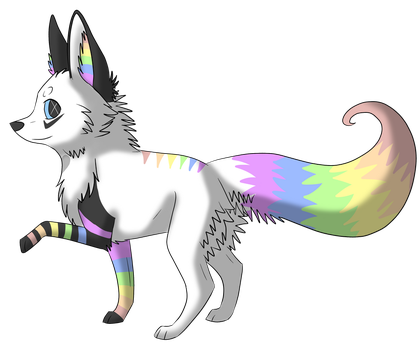 Skittles the Fennec Fox by Savannah-Nanna