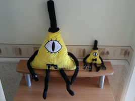 Big Bill and Mini Bill Plushie by TheCreatorsEye