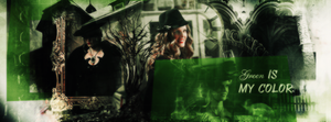 Green is my color. by blondehybrid