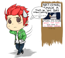 Crack Event 02: National Smack-a-Bum Day! by suberidai