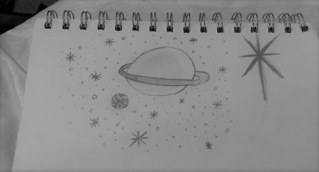 Space Doodle by SacredPorcupine