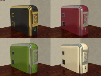 Art Deco Style Computer Case(s) by JohnK222